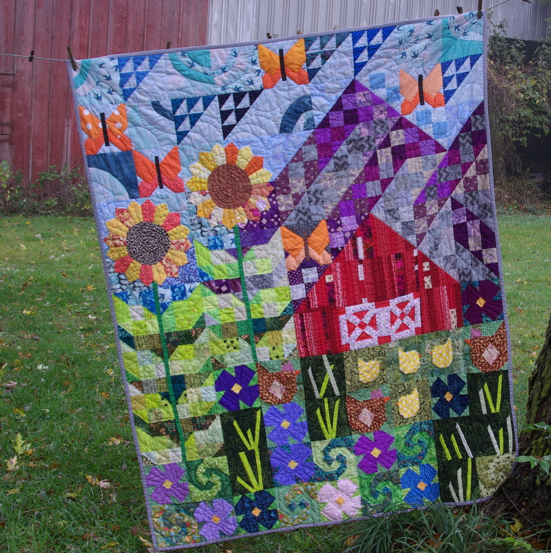 Sane Crazy Crumby Quilting A Finish Old Macdonald