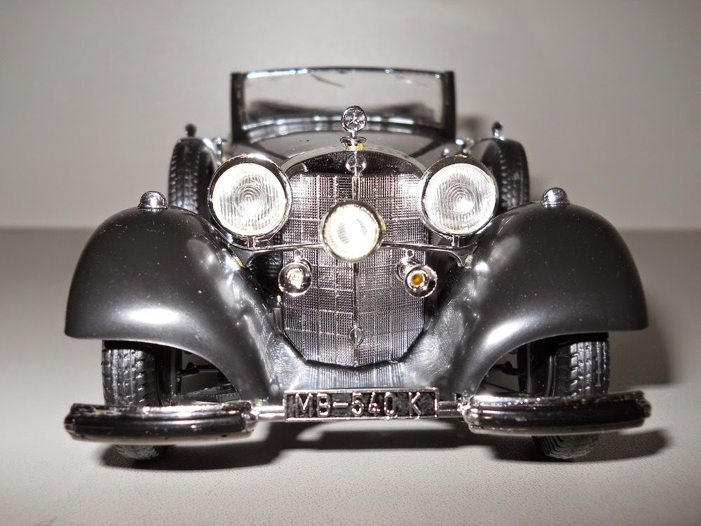 göring mercedes benz scale model