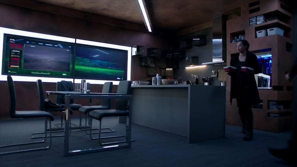 Apartment on Mars in Season 4 of The Expanse