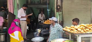 बाल श्रम ना कराने के लिए मनावर शहर में चलाया जागरूकता अभियान