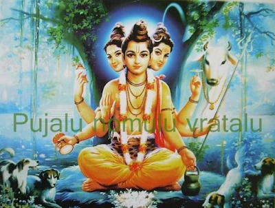 Shri Dattatreya ashtotarra shatanamavali in English