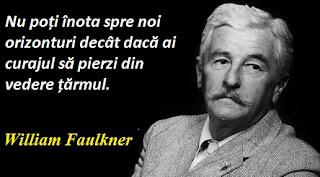 Maxima zilei: 25 septembrie -  William Faulkner