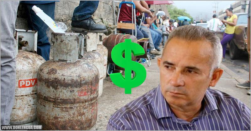 Freddy Bernal dejó entrever que el Gas se cobrará en dólares
