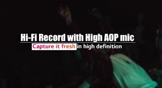 LG V20 Hi Fi Record Performances