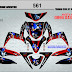 DECAL STICKER MOTOR YAMAHA