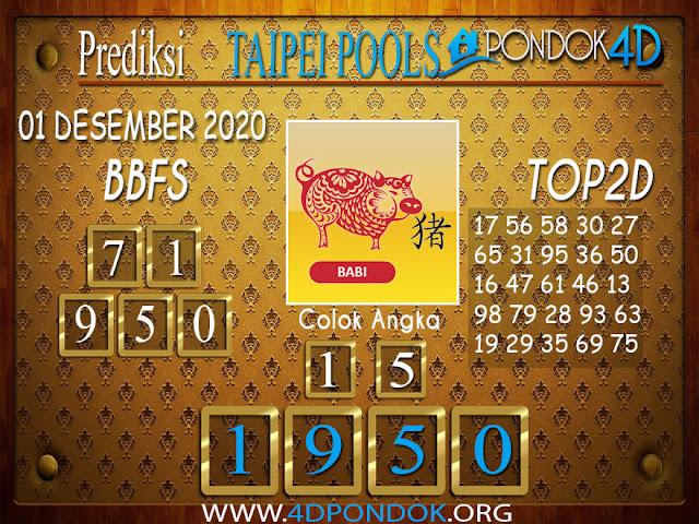 Prediksi Togel TAIPEI PONDOK4D 01 DESEMBER 2020