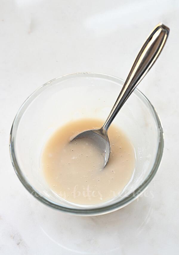 a bowl with glaze