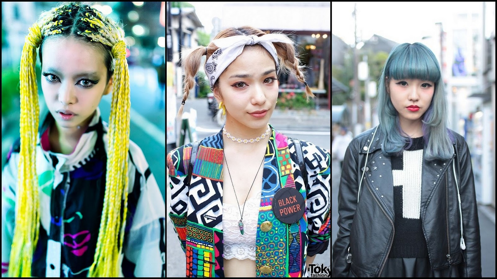 Fashion style Street Japanese style hair pictures for lady