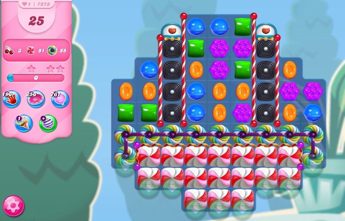 Candy Crush Saga level 7273