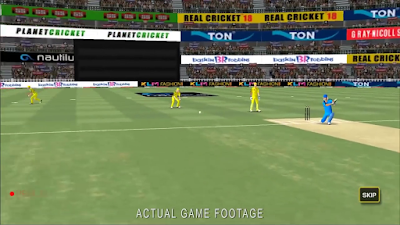 Real Cricket Go Graphics