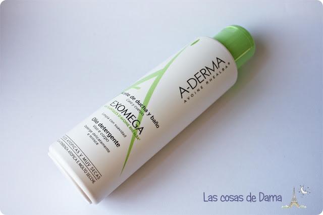 Exomega Aceite Baño Ducha  A-Derma dermocosmetica belleza dermatitis atopia