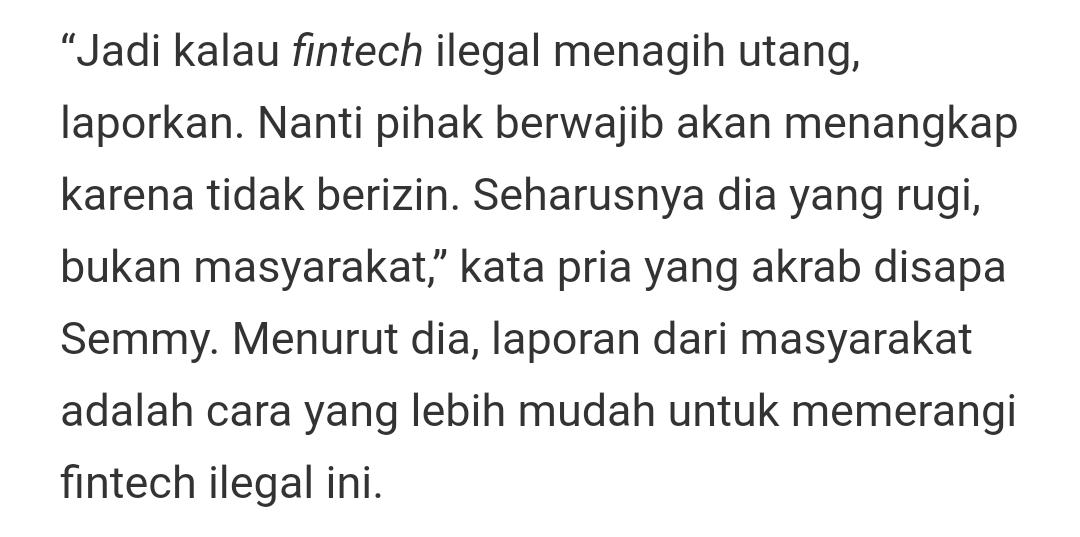 Tidak Usah Bayar Pinjaman Online Ilegal Lintah Darat Gk Masalah Kok Ransidit Com