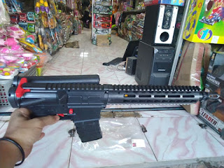 Review Unit Airsoft gun Spring M4 Predator (Karabin)