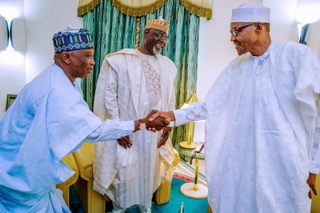 PDP Chairman In Yobe Meets Buhari, Decamps To APC