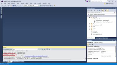 vs8 - Cara Upload Website ke Microsoft Azure melalui Visual Studio 2015