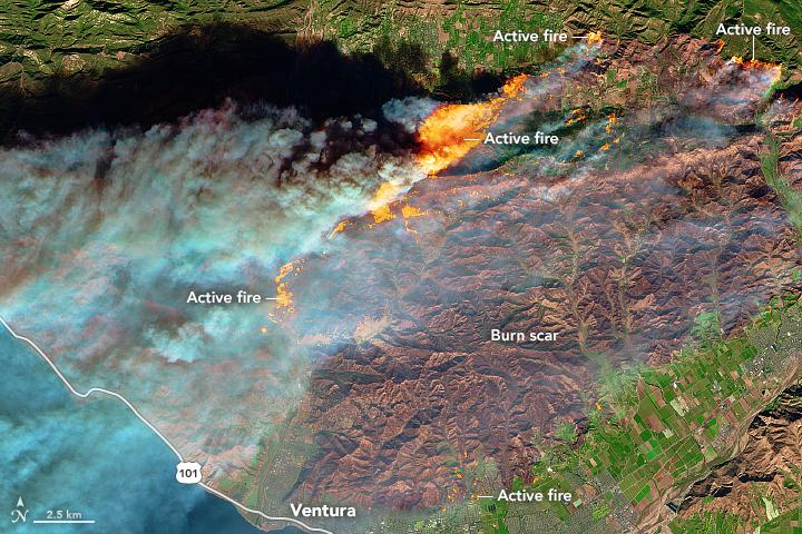 Ventura Oil Gas Fields Are On Fire