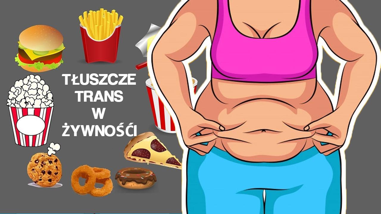 Tłuszcze trans są niebezpieczne dla zdrowia.