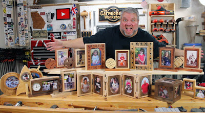 15 Scroll Saw Picture Frames eBook