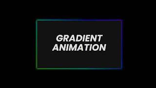 css gradient animation