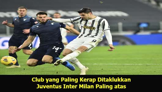 Club yang Paling Kerap Ditaklukkan Juventus Inter Milan Paling atas