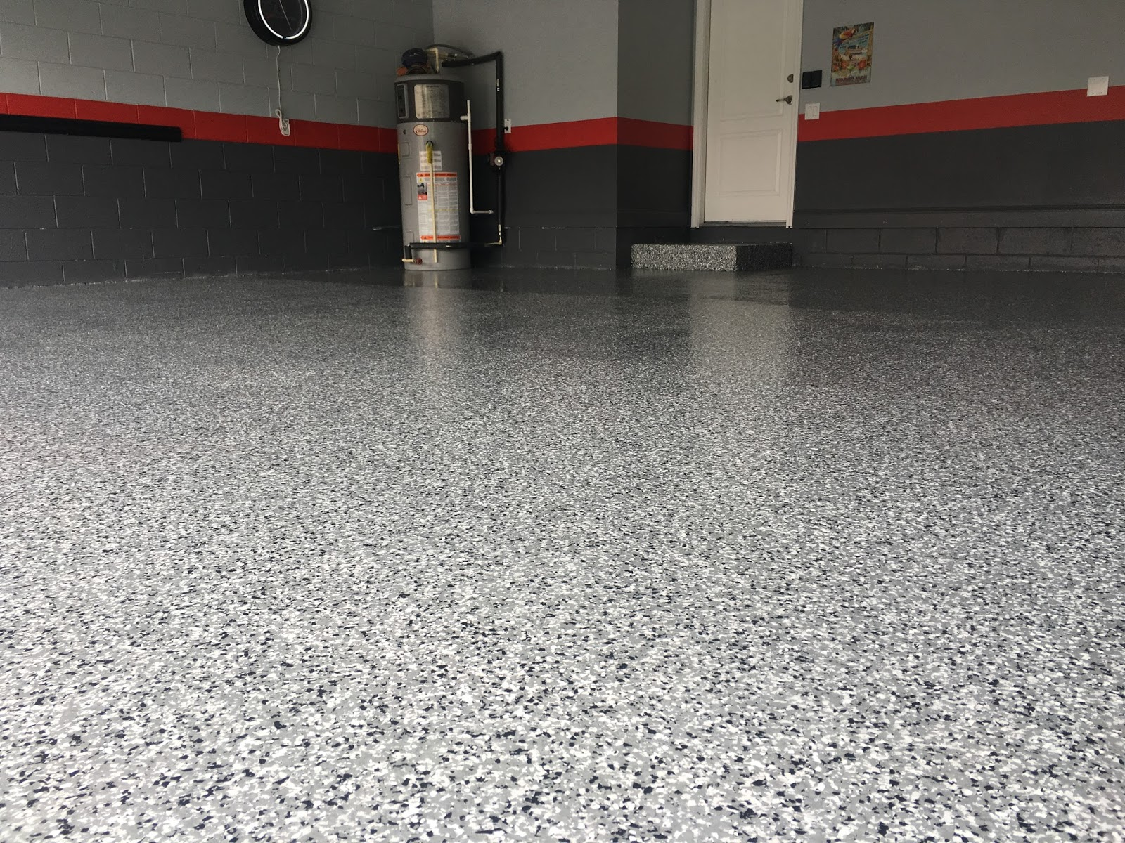 system garage granite floor floors liquid everywhere our works