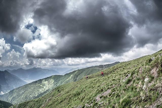MTB Tolmezzo Monte Dimon Mountainbike Tour / Monte Dimon (2043 m) in Monte Paularo (2043 m)