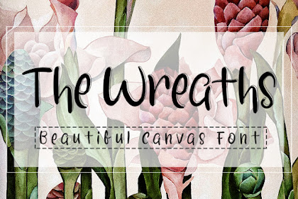 The Wreaths Font - Best Handwritten Font For your Business