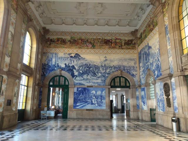 Estación de trenes de Oporto