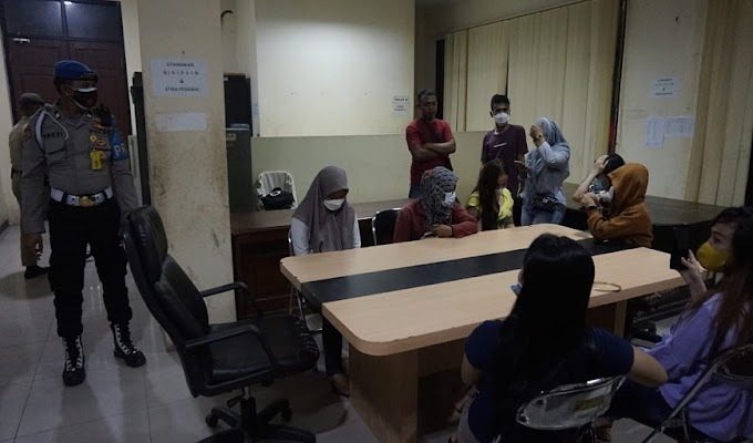 Ciptakan Kamtibmas, 11 Orang Terjaring dalam Razia Pekat Satgas Ops Bina Kusuma Maung Polres Cilegon 2021