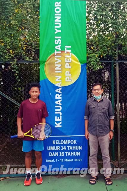 Masuki Babak Pamungkas, Inilah Jadwal Final Kejuaraan Invitasi Tenis Yunior Nasional PP PELTI Kelompok Umur 14 dan 16 Tahun Putra