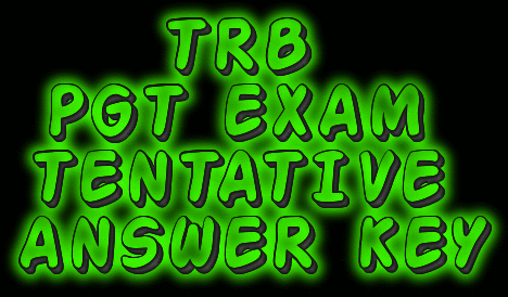 Image result for Tentative Answer key