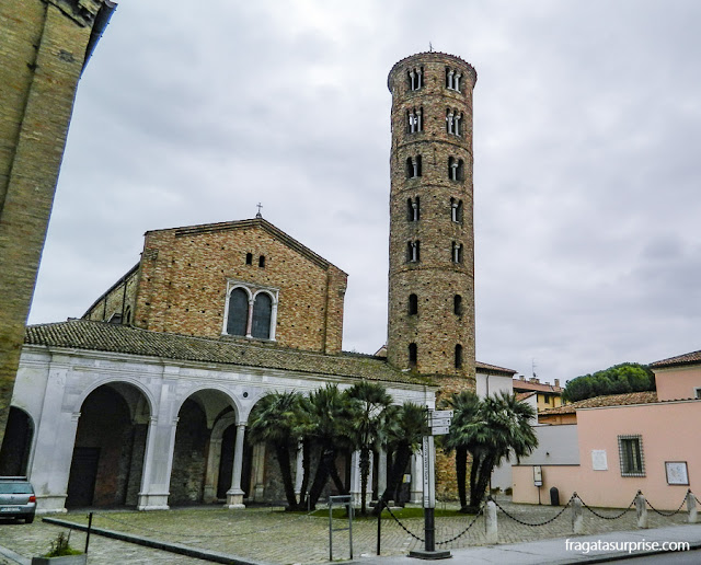 Basílica de Sant'Apollinare Nuovo, Ravena, Itália