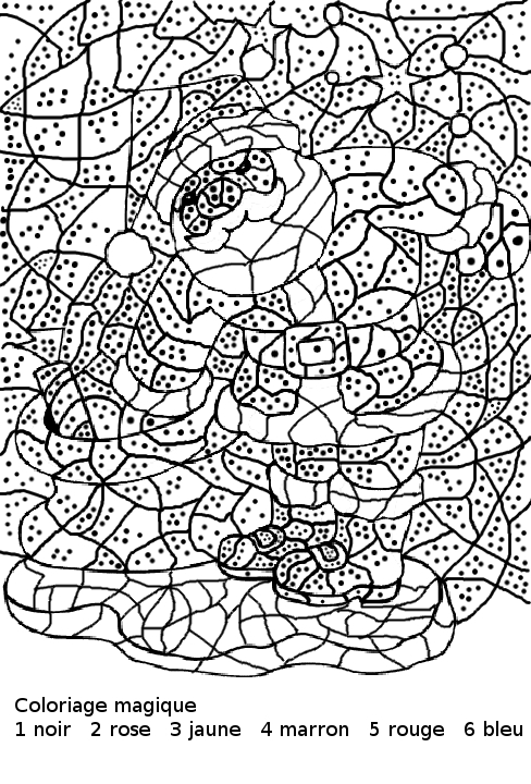 Coloriage Magique De Noel à Imprimer Gratuit : maternelle coloriage magique maternelle le p re no l et ~ Pogadajmy.info Styles, Décorations et Voitures