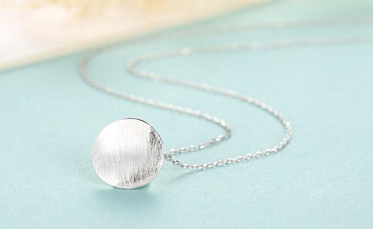 極簡設計風 925純銀項鍊