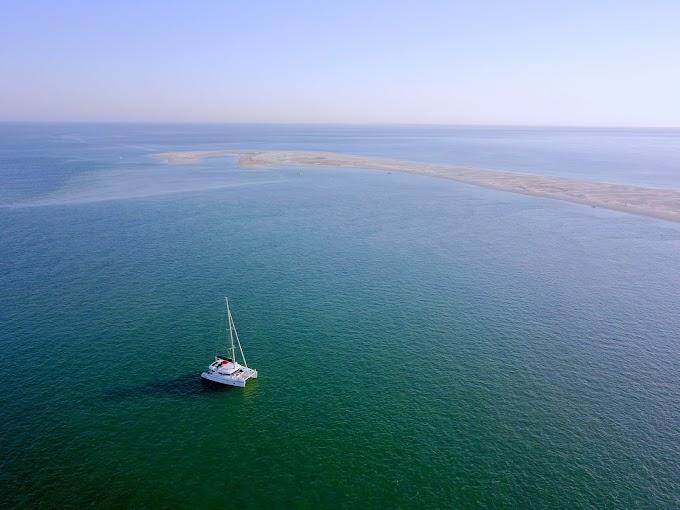 El Algarve en barco