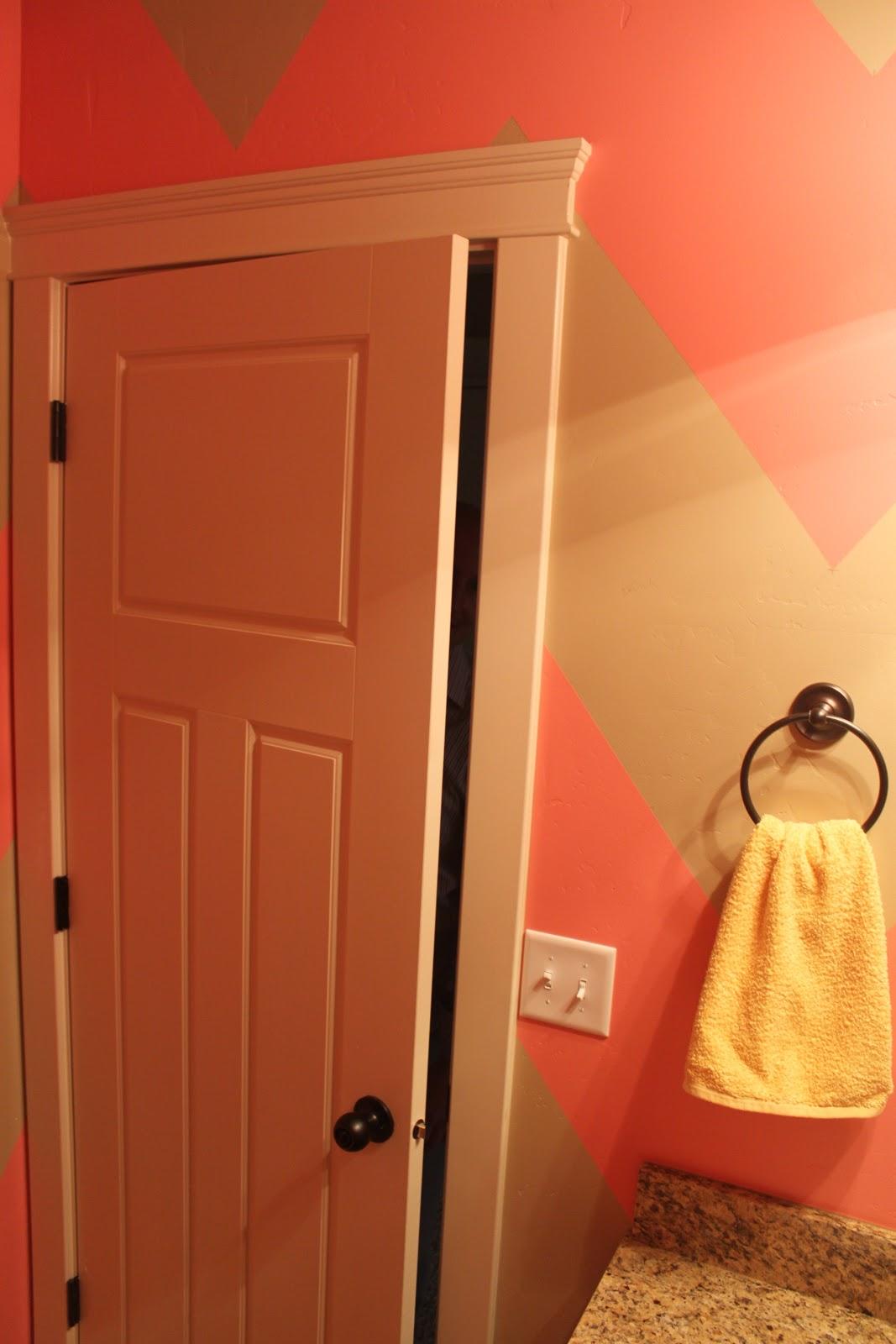 {DIY Chevron Bathroom/Wall} | Dani Marie Blog