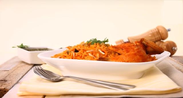 Bukhari Rice With Chicken Recipe