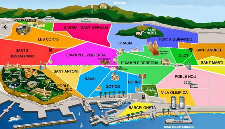 Cartina Barcellona Dettagliata.Folding Style C Luglio 2014