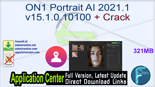 ON1 Portrait AI 2021.1 v15.1.0.10100 + Crack