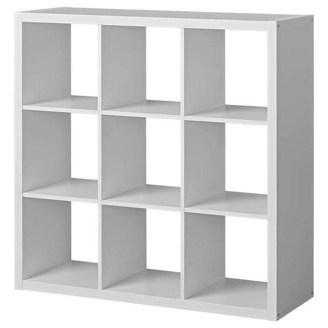 IKEA Kallax nine unit