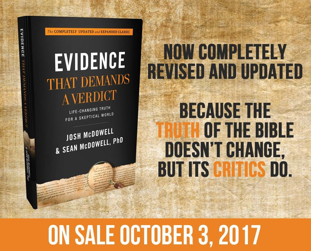 Footprints in the butter 2017 the original evidence that demands a verdict was one of the very first apologetics books out there that was actually accessible to normal people fandeluxe Gallery