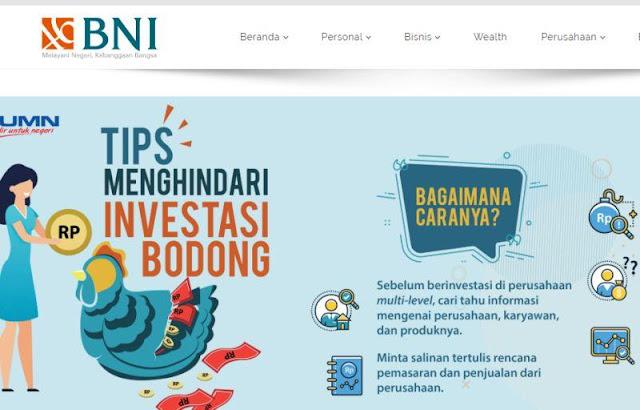 Pelayanan Bank BNI Bekasi