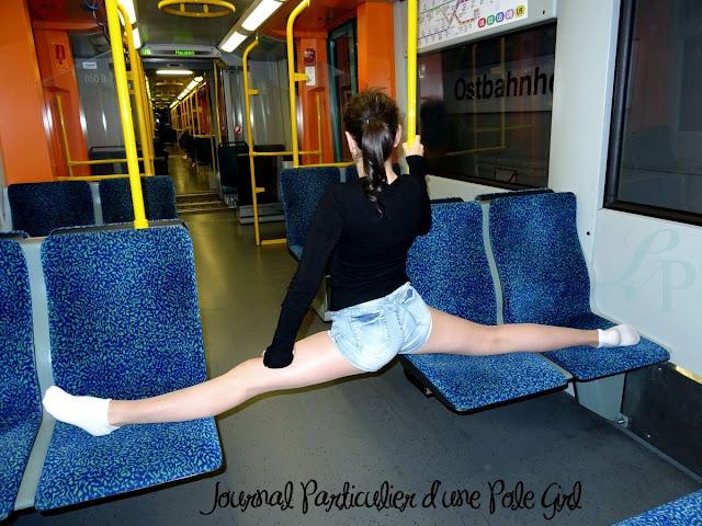 JournalPoleGirl pole dance lola plumeti francfort tricks street pole