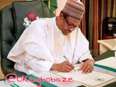 I will Sign Biafra to have peace of mind - Buhari