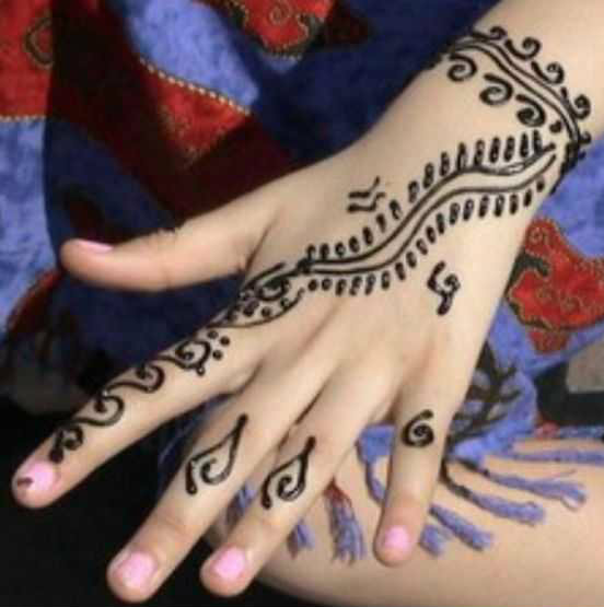 Mehndi Design Henna Art Simple And Easy Kids Heena Mehndi Art