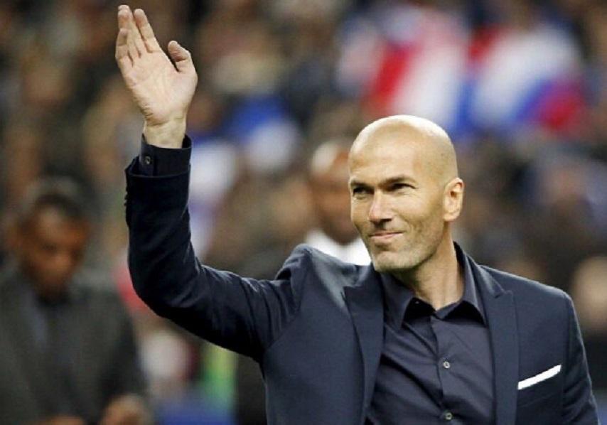 ريال مدريد يعلن استقالة زيدان من تدريب الفريق