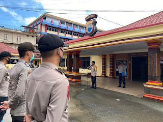 Kapolres Tana Toraja AKBP. Sarly Sollu, kembali menegaskan kepada seluruh personil Polres Tana Toraja untuk menggunakan kewenangan sesuai dengan tupoksinya