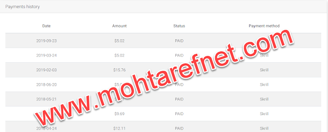 up-4ever payment proof