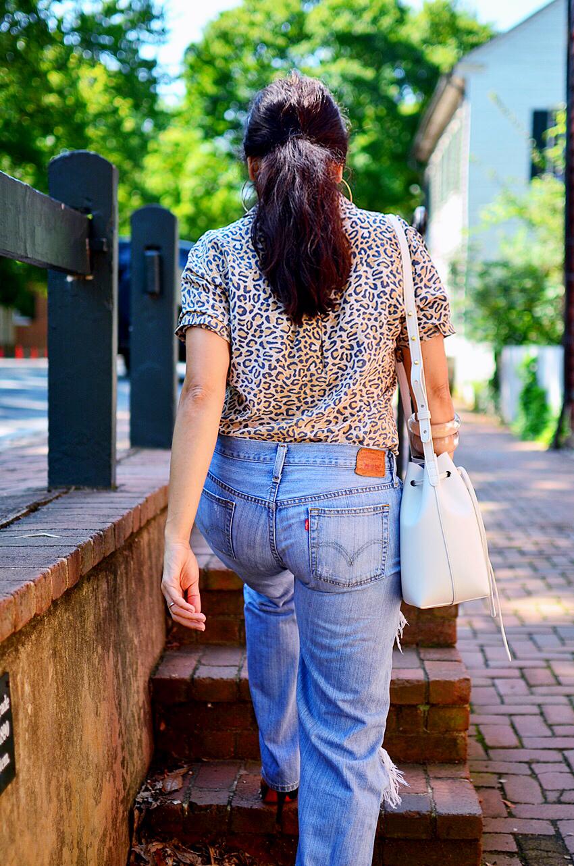 Levi's vintage jeans street style