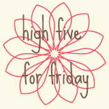 High Five for Friday: 3/30/2012